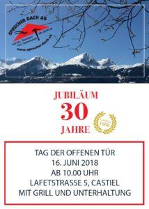 Plakat Jubiläum