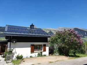 Solaranlage Sunskinroof Eternit